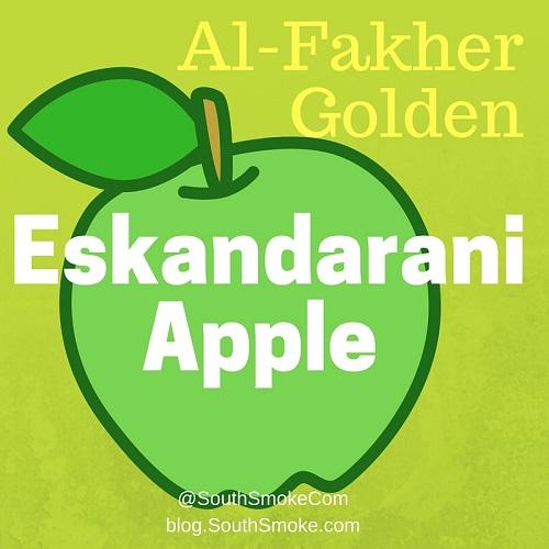 Golden Al-Fakher Eskandarani Apple Flavor Review