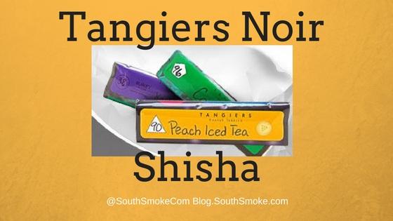 Tangiers Shisha Noir