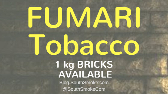 Fumari Tobacco in 1 kg bricks
