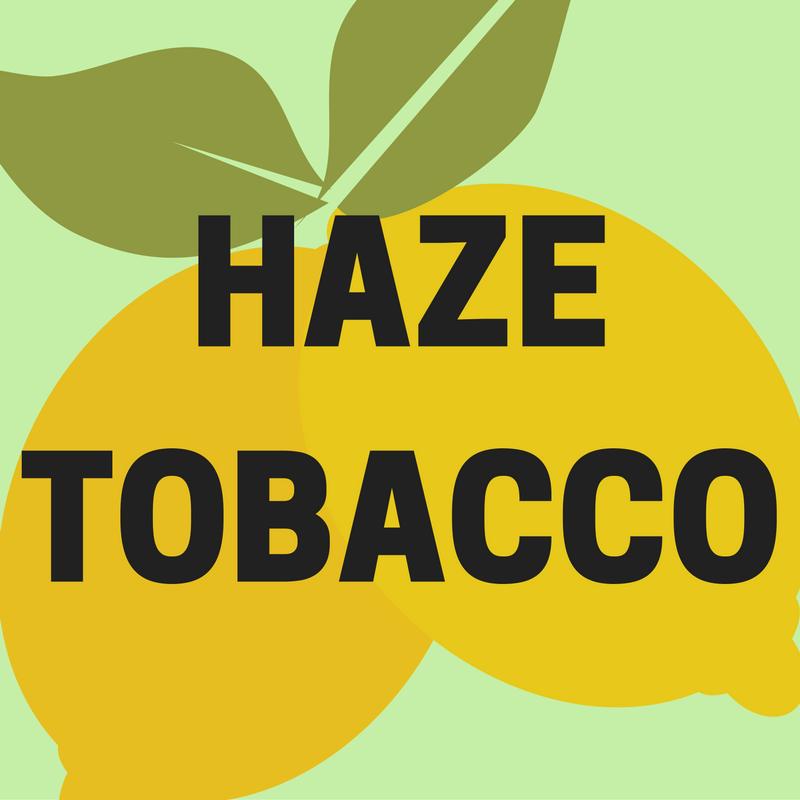 Haze Tobacco Lemon Citrus Flavors