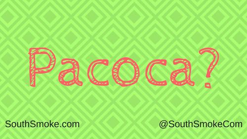 Haze Pacoca Shisha peanut flavor