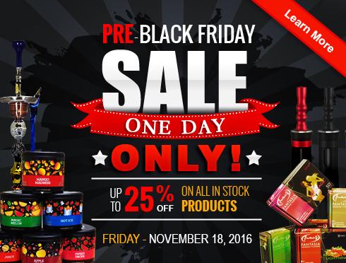 Hookah Sale Pre Black Friday 2016