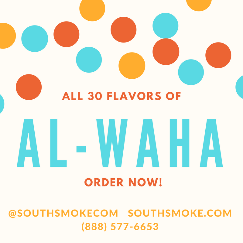 Al Waha Flavored Hookah Tobacco
