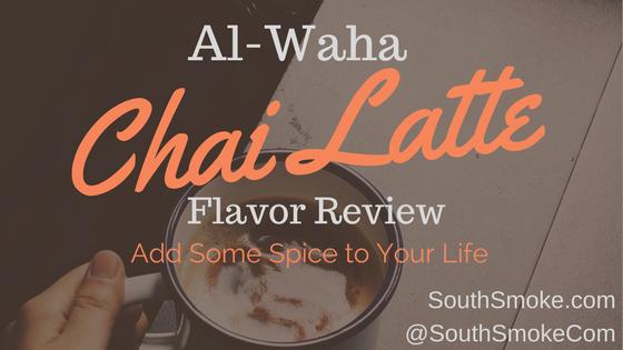 Al-Waha Hookah Tobacco Chai Latte Flavor Review