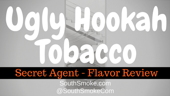 Ugly Hookah Tobacco Review - Secret Agent