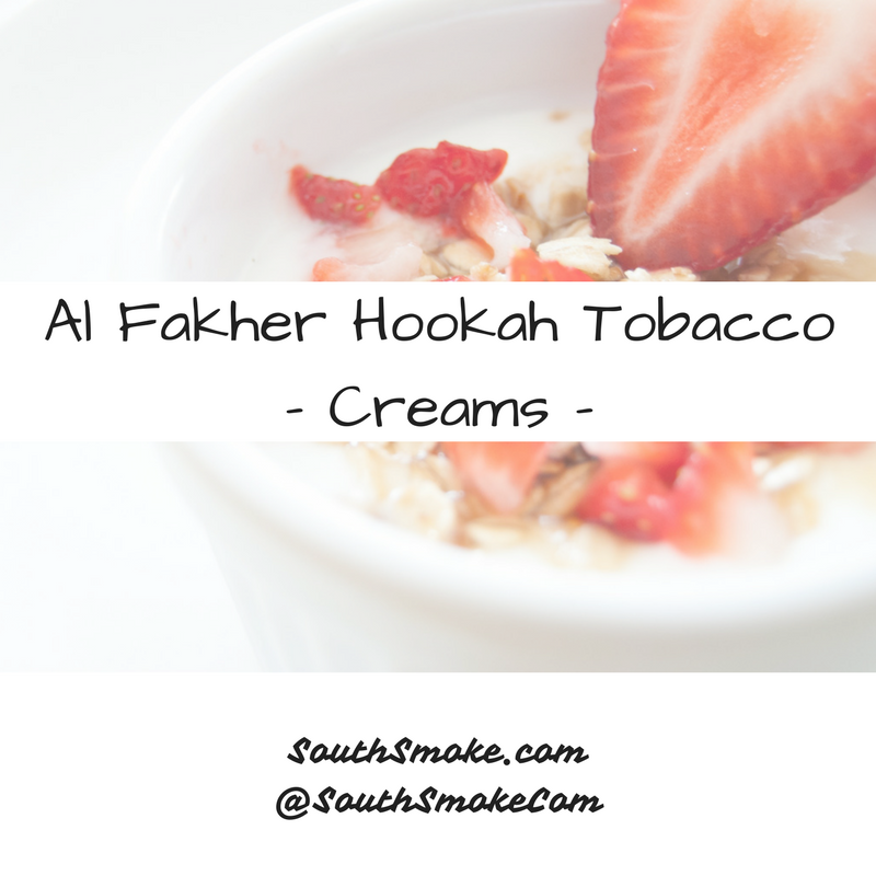 Al-Fakher Hookah Tobacco Creams