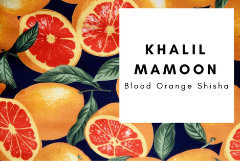 Khalil Mamoon Blood Orange Shisha