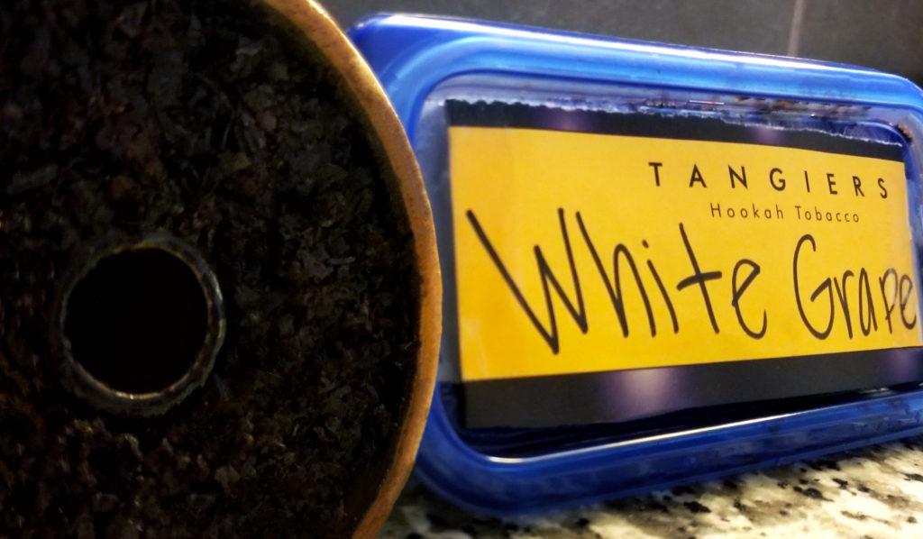 Tangiers Shisha Noir Line White Grape